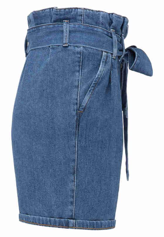 Hose Paperbag Short, Blau 680, bueste