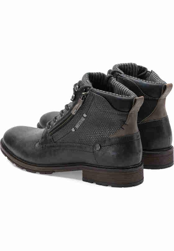 Schuh SCHNUER-BOOT, Grau, bueste