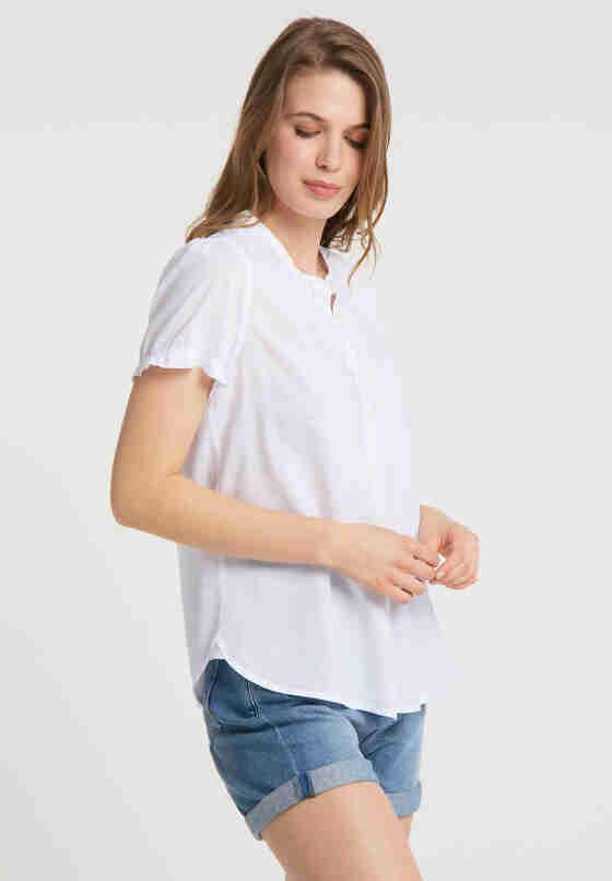 Bluse Bluse, Weiß, model