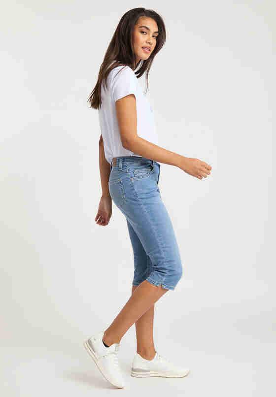 Hose Rebecca Capri, Blau 212, model