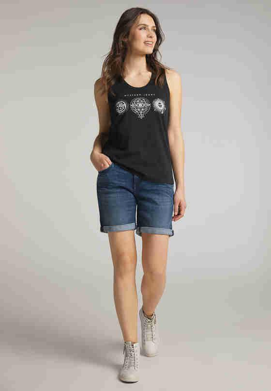 T-Shirt Tanktop, Blau, model