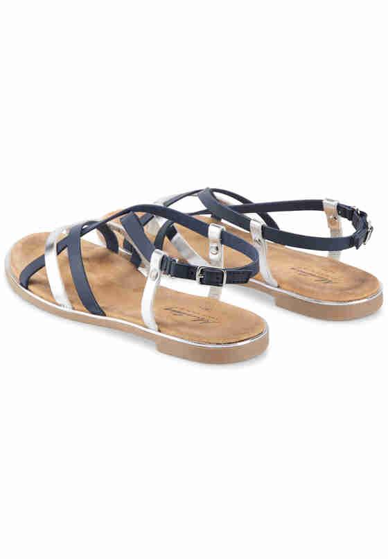 Schuh Sandale, Blau, bueste
