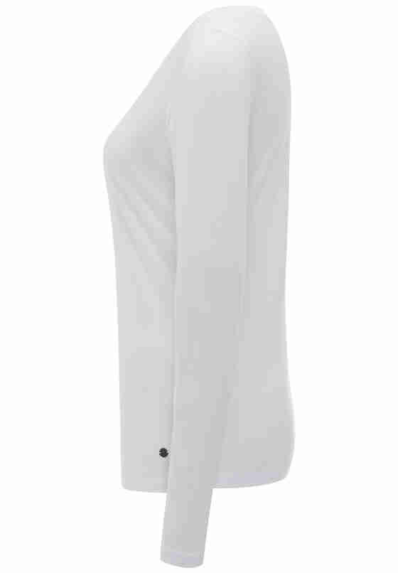 T-Shirt Longsleeve, Weiß, bueste