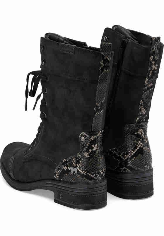 Schuh Schnürstiefelette, Grau, bueste