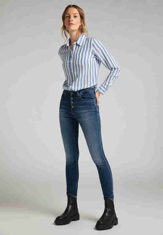 Hose Mia Jeggings, Blau 682, model