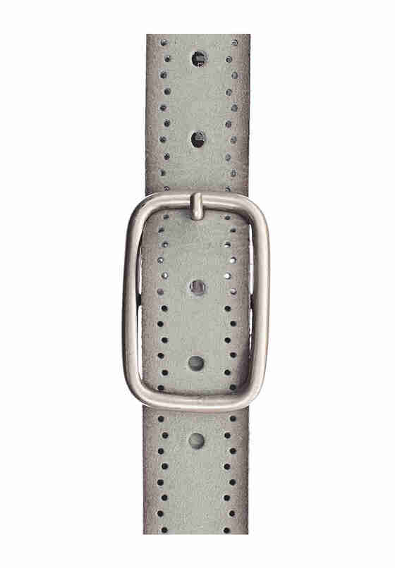 Accessoire Veloursgürtel, Grau, bueste