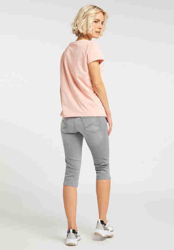T-Shirt Alina C Print, Rosa, model