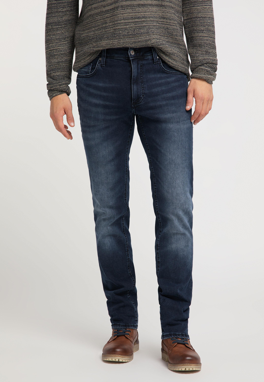 Mustang Washington Herren Jeans Used-Look Slim Fit