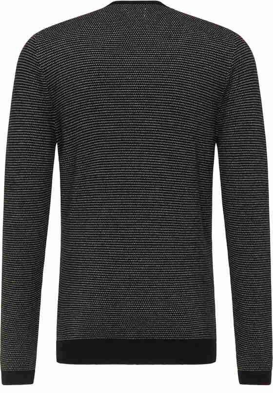 Sweater Strickpullover, Schwarz, bueste