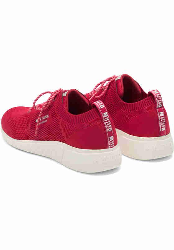 Schuh Schnürhalbschuh, Rot, bueste