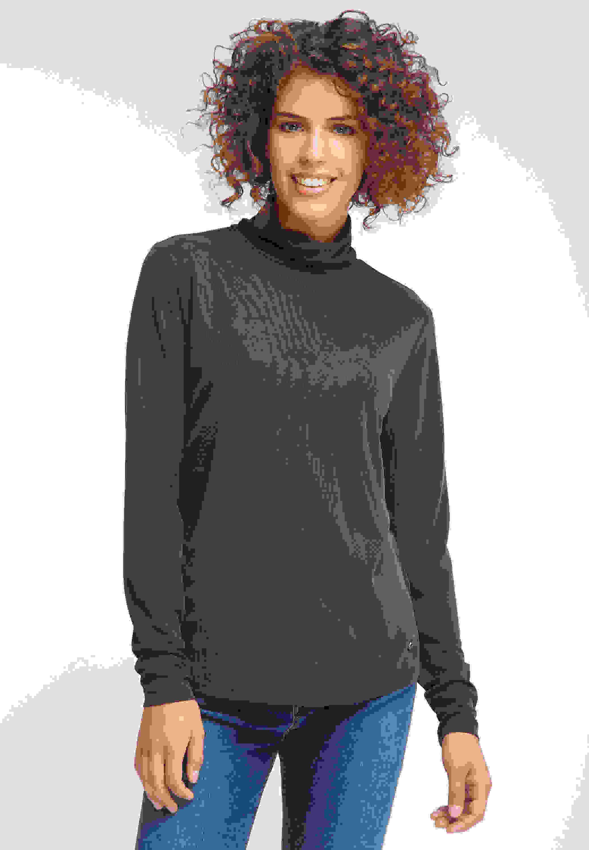 T-Shirt Rollkragenshirt