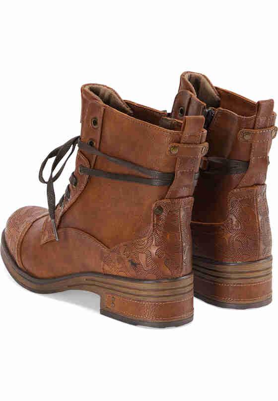 Schuh Stiefelette, Braun, bueste