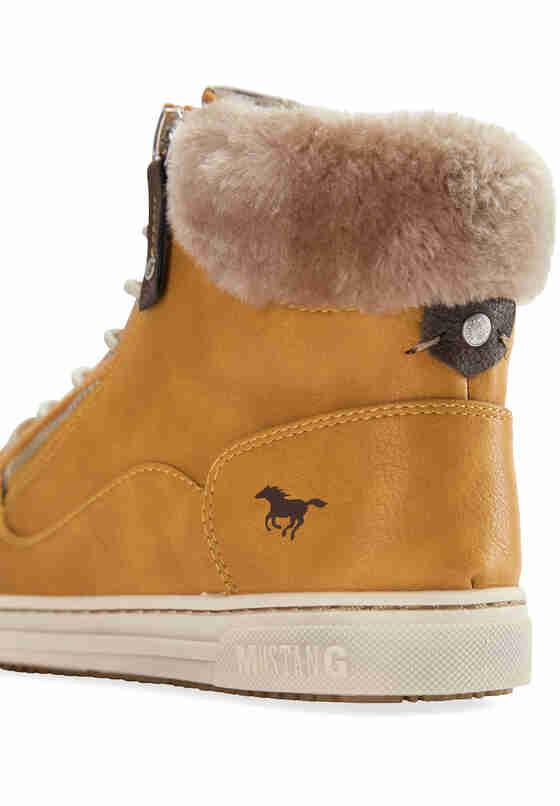 Schuh Sneaker, Gelb, bueste