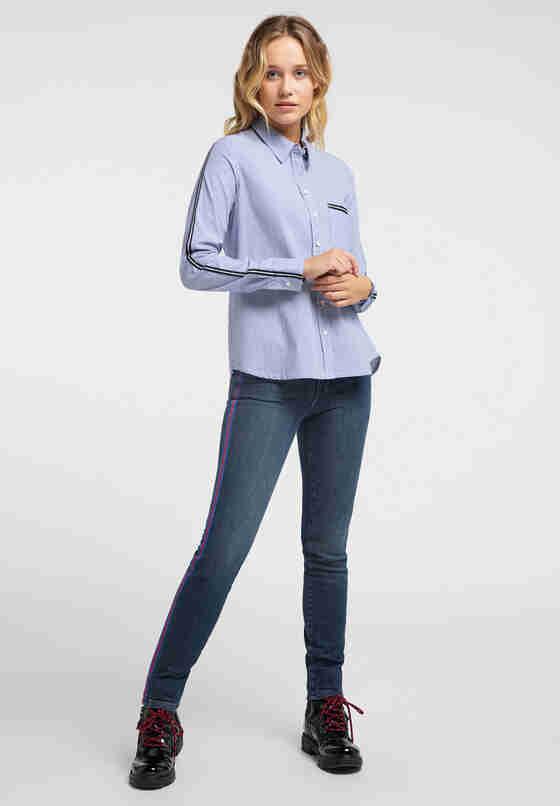 Bluse Edda KC Stripe, Blau, model