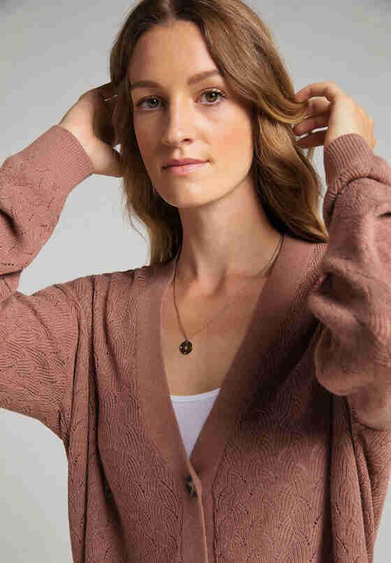 Cardigan Strickjacke, Rosa, model