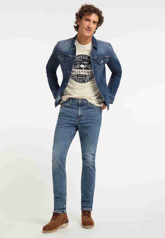 Hose Tramper Tapered, Blau 413, model