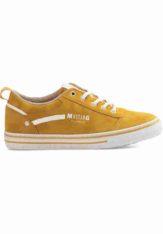 Schuh Sneaker, Goldfarben, bueste