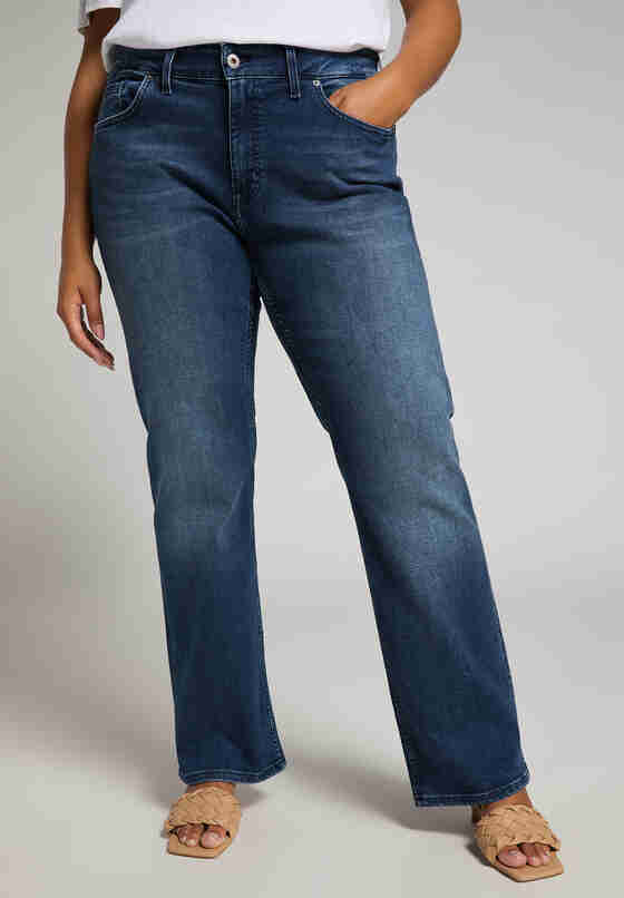 Hose Sissy Straight, Blau 574, model