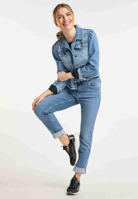 Jacke Jeansjacke, Blau 417, model