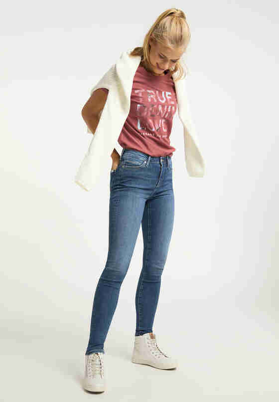 Hose Zoe Super Skinny, Blau 682, model