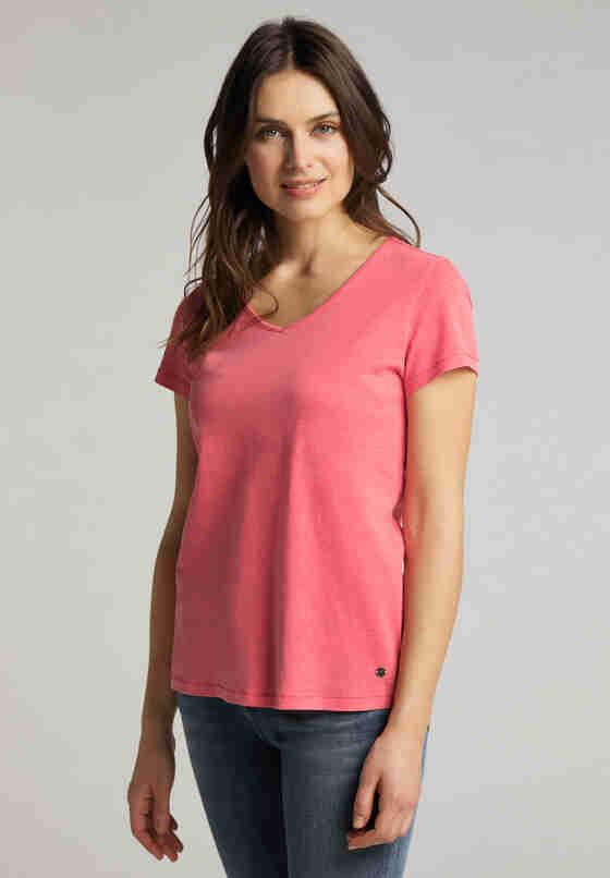 T-Shirt Print-Shirt, Rot, model