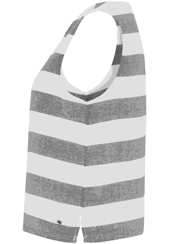 Bluse Block Stripe Top