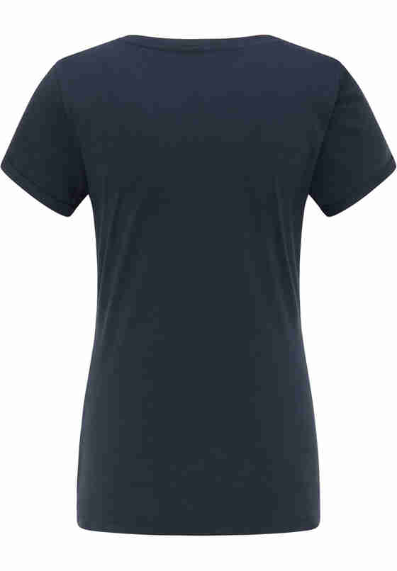 T-Shirt Print-Shirt, Blau, bueste