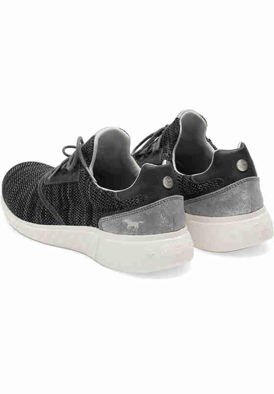 Schuh Schnürhalbschuh, Schwarz, bueste