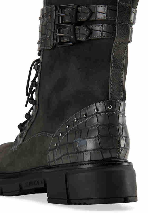 Schuh Schnür-Boots, Grau, bueste