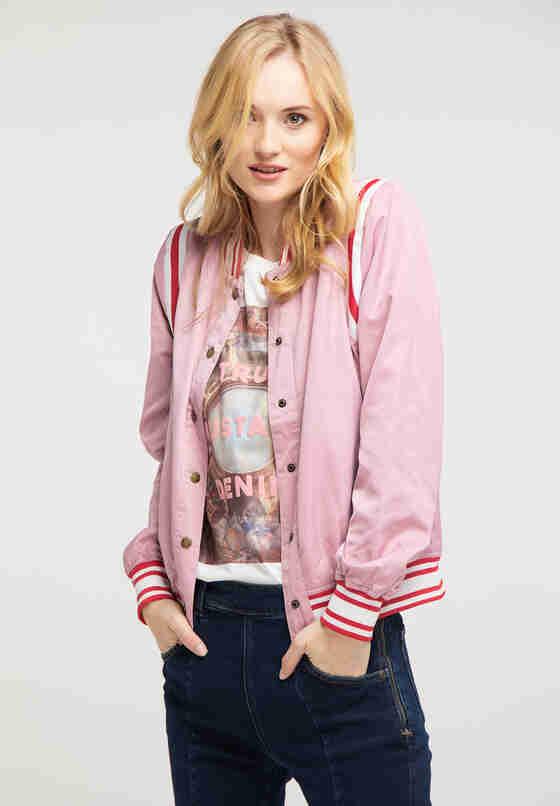 Jacke Blouson, Rosa, model