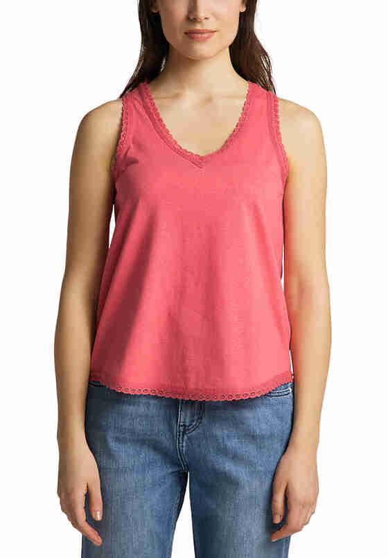 T-Shirt Tanktop, Rot, model
