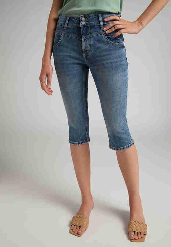 Hose Rebecca Capri 2B, Blau 772, model