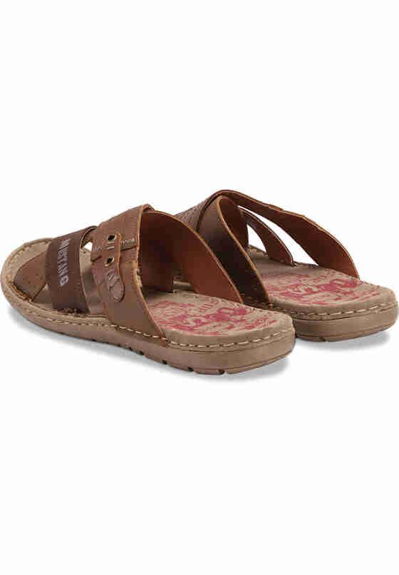 Schuh Pantolette, Braun, bueste