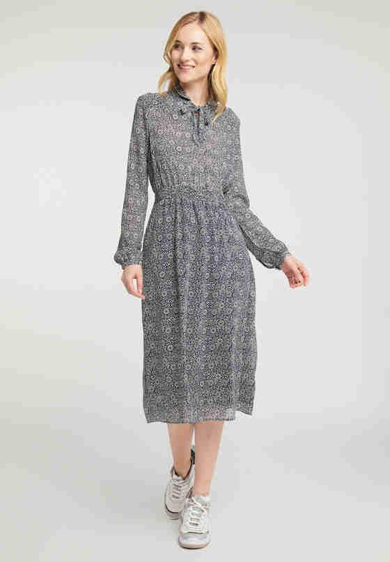 Kleid Fanny V Chiffon, Bunt, model