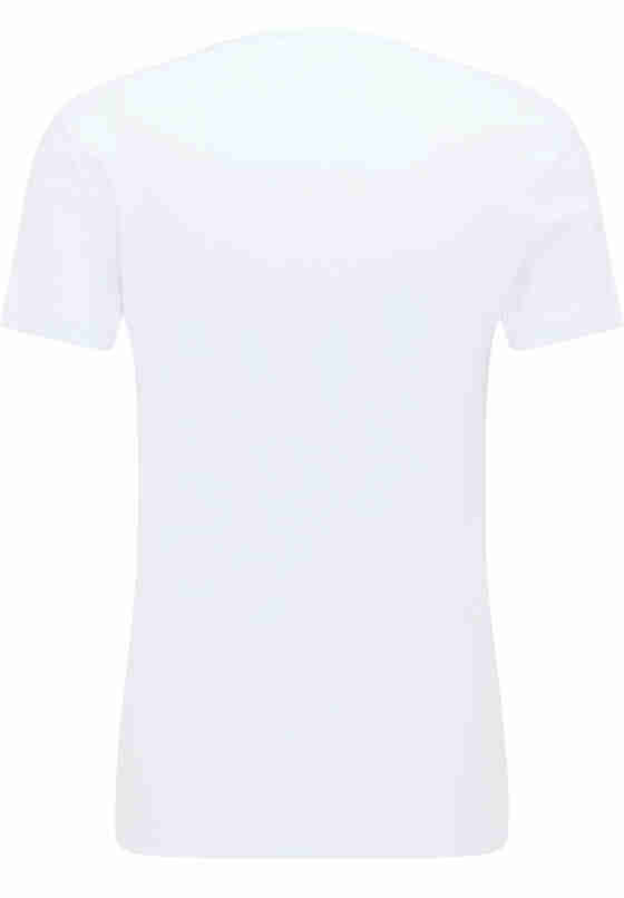 T-Shirt Aaron V Basic, Weiß, bueste