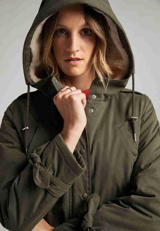 Jacke Parka, Grün, model