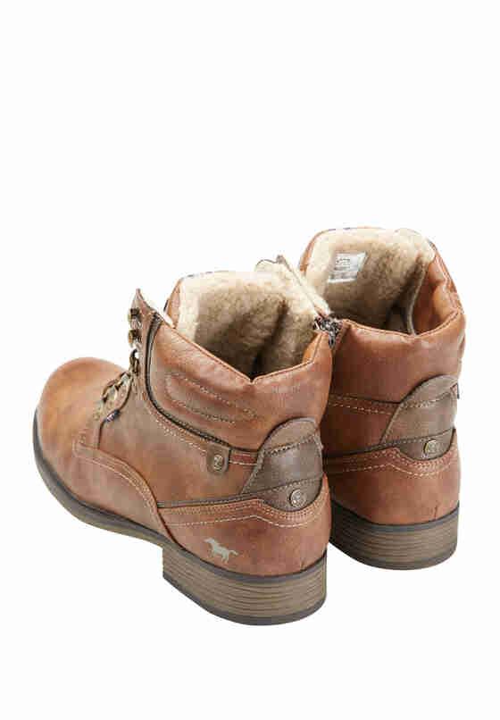 Schuh Schnürstiefel, Braun, bueste