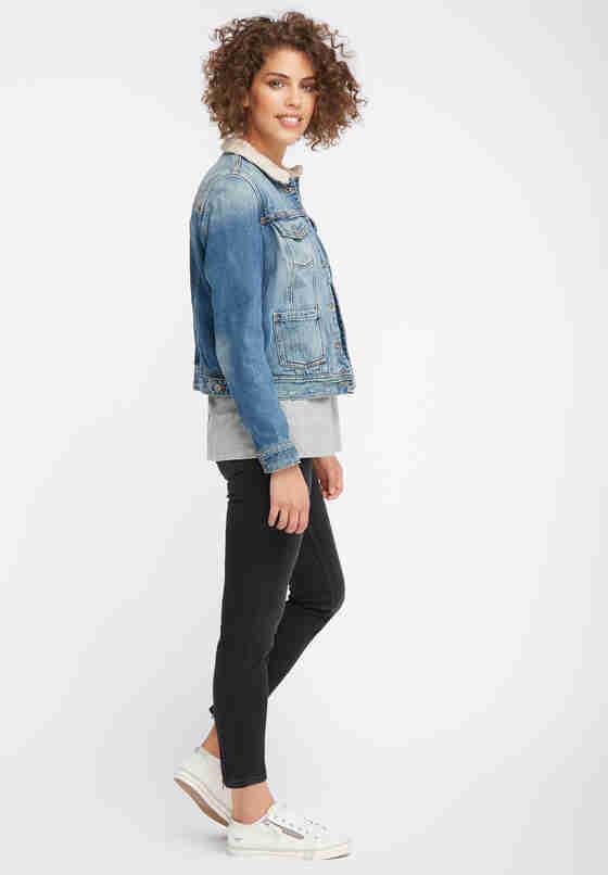 Jacke Jeansjacke, Blau 777, model