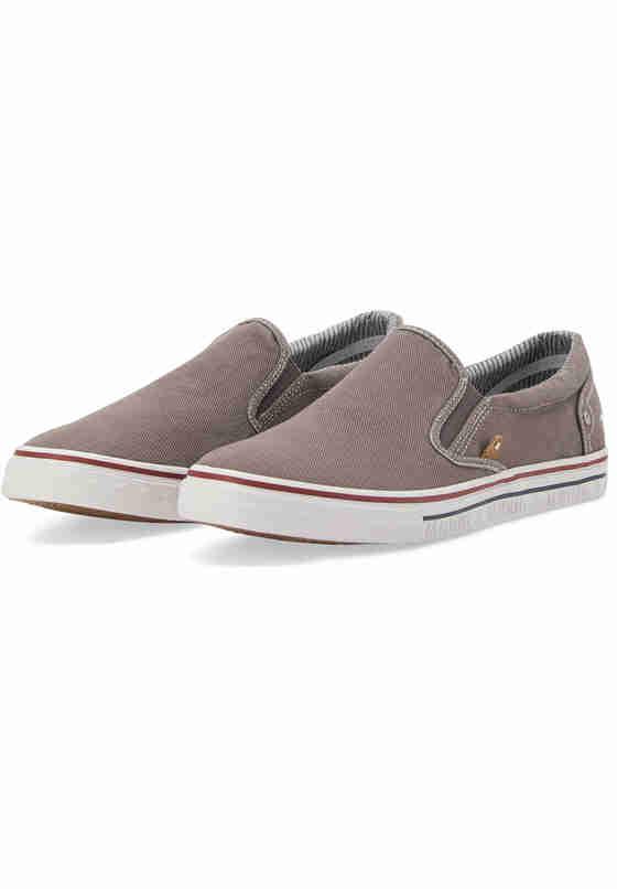 Schuh Slipper, Grau, bueste