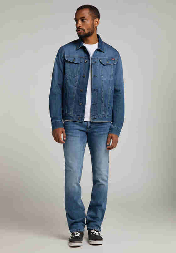 Hose Tramper, Blau 413, model