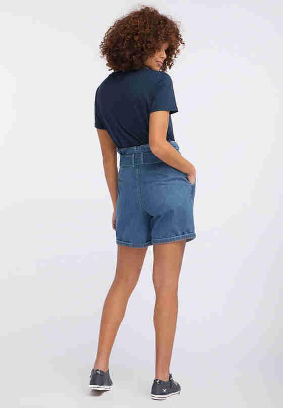 Hose Paperbag Short, Blau 680, model