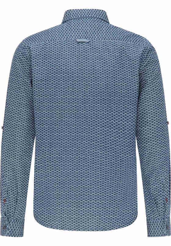 Hemd Baumwollhemd, Blau, bueste