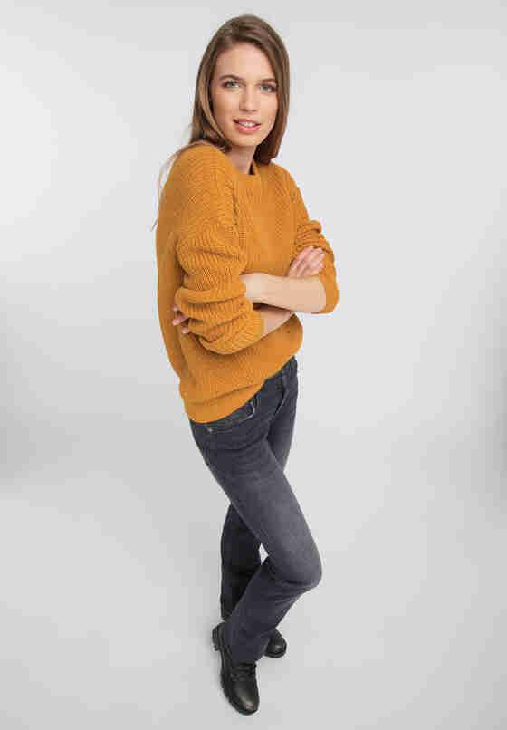 Sweater Pullover, Gelb, model