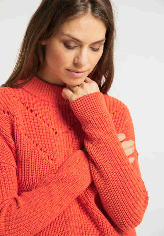 Sweater Pullover, Rot, model