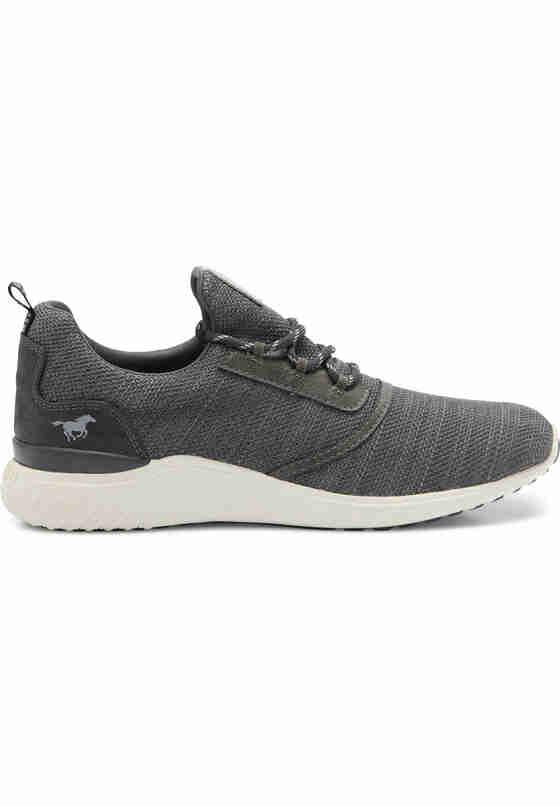 Schuh Schnürhalbschuh, Grau, bueste