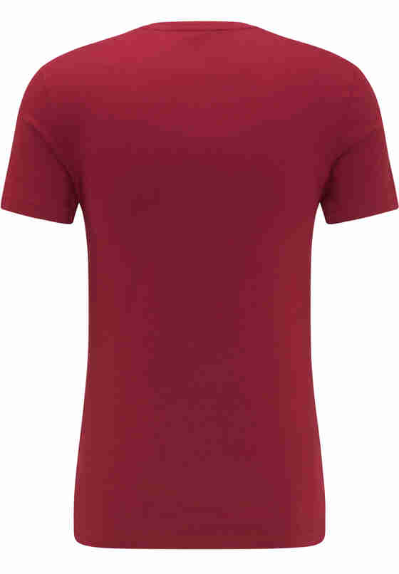 T-Shirt Aaron C Print, Rot, bueste