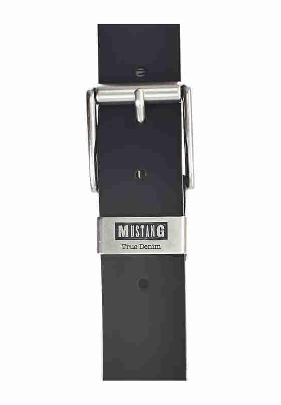 Accessoire Ledergürtel, Schwarz, bueste