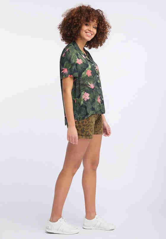 Hose High Waist Short, Bunt 086, model