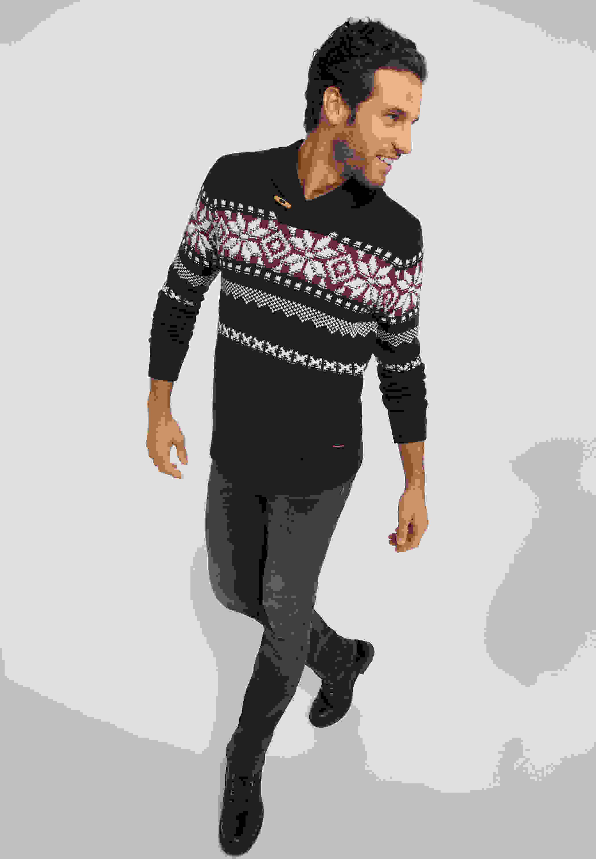 Sweater Emil SC Jaquard