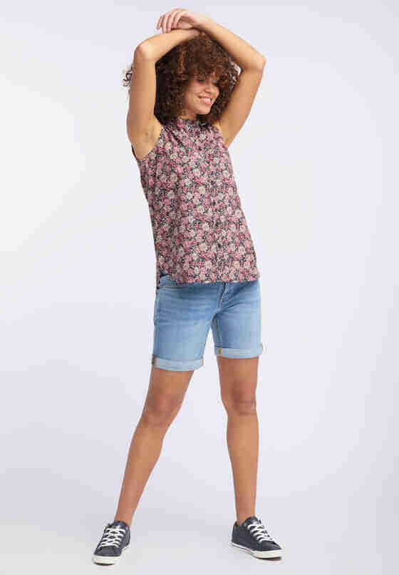 Bluse Basic Summer Top, Bunt, model